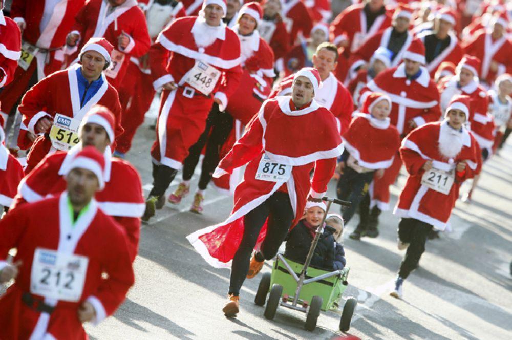 Рождественский забег в Берлине