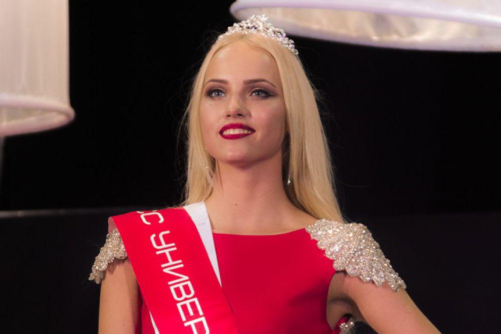 Мисс ПГУ-2015 Ангелина Судакова.