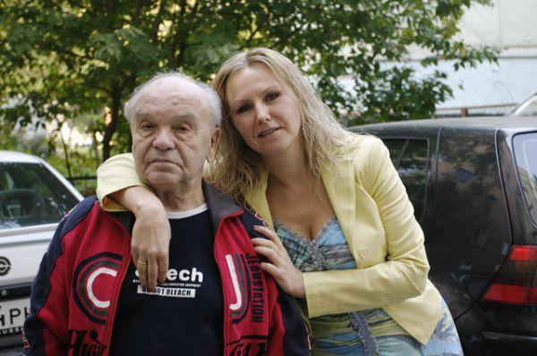 Владимир Шаинский с женой Светланой, 2005 год.