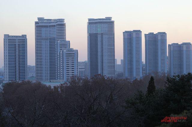 В Корее строят много и быстро.