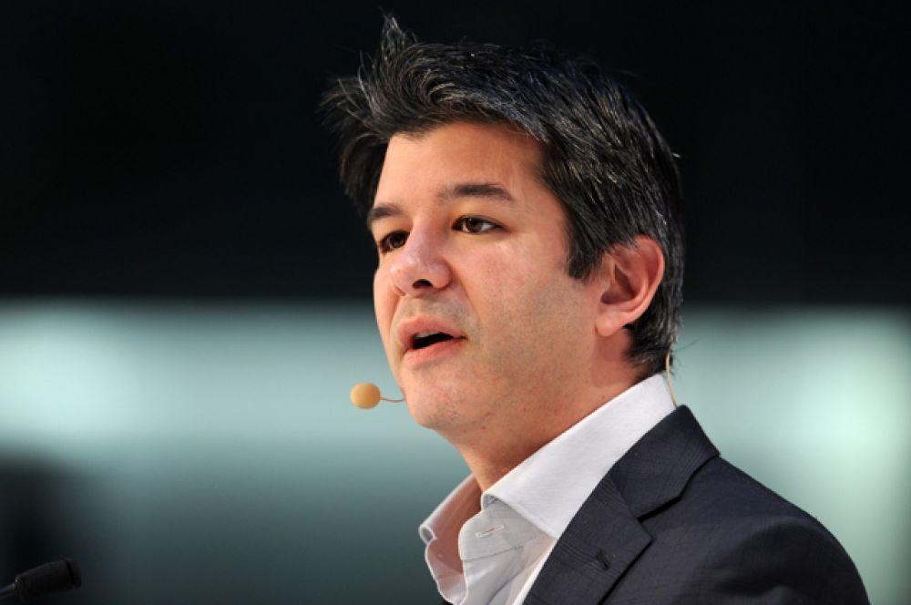 Генеральный директор Uber Трэвис Каланик