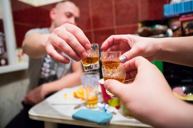 Пьют в Сибири много