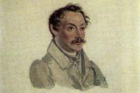 Александр Одоевский. Акварель Николая Бестужева (Петровский завод, I 1833)