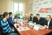 Представители партий обсудили состояние местного бюджете.