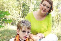 Светлана гордится сыном: в этом году Сергей занял первое место на X фестивале по конному спорту для спортсменов с ограниченными возможностями «Золотая осень».