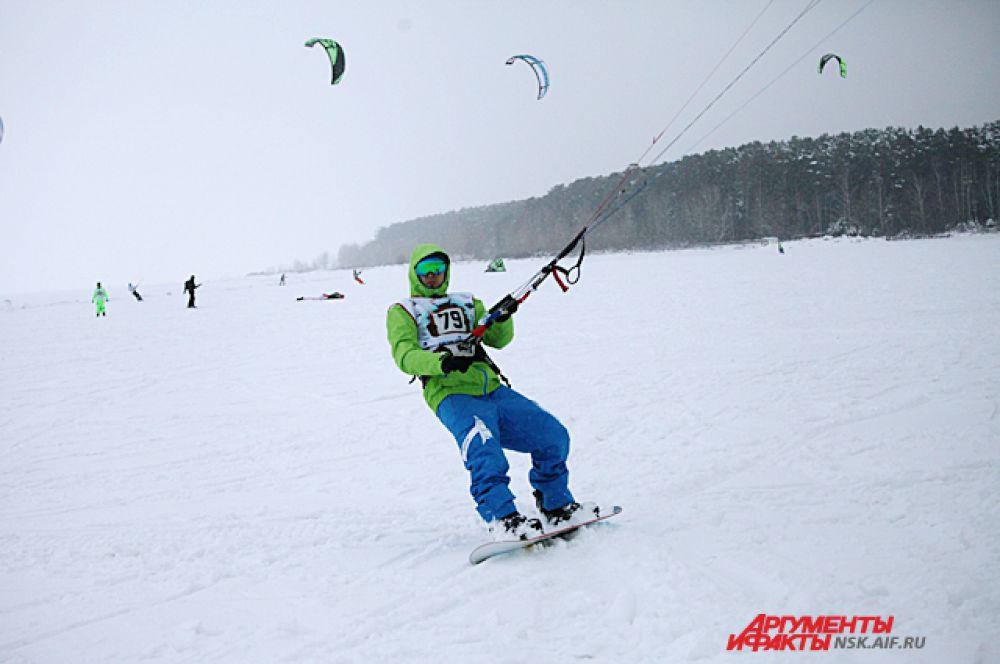 Соревнования проходили на льду три дня.