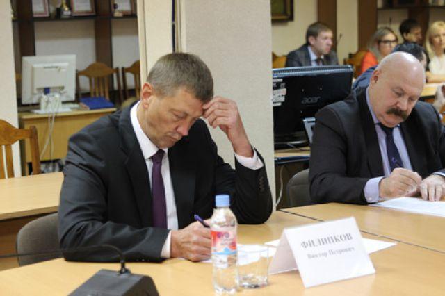 Виктор Филипков и Александр Тутиков.