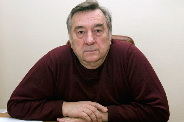 Писатель Алеквандр Проханов