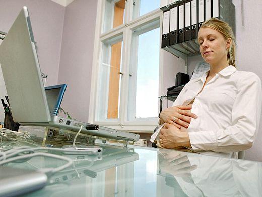 когда говорить работодателю о беременности