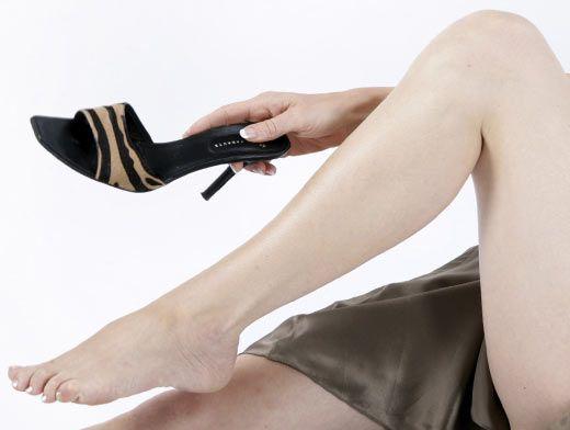 8201def71 Красиво, но опасно? От высоких каблуков страдают колени, позвоночник и  внутренние органы