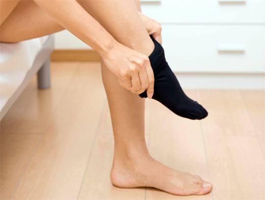 Фото грибка кожи на ноге