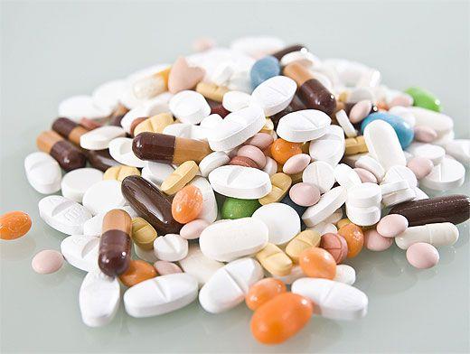 Антибиотики и витамины