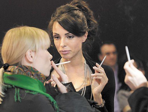 Фото девушки с рекламы сигарет гламур