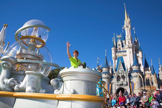 Парк Walt Disney в США.