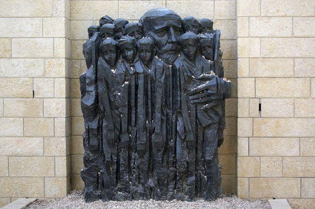 Памятник «Януш Корчак с детьми» в Иерусалиме.