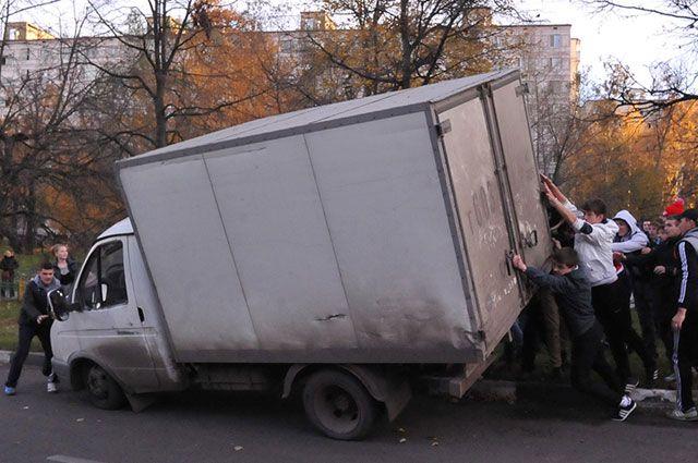 Беспорядки в Бирюлево.