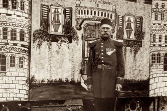 Первый король Албании, клоун Отто Витте.
