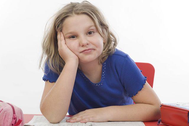 ребенок ленится на уроках
