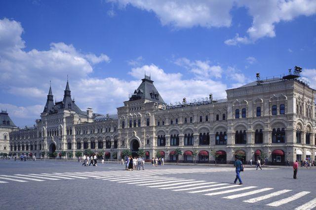 ГУМ на Красной площади.
