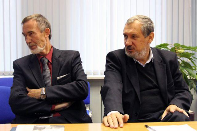 Анатолий Агапов и Алексей Фёдоров — православные учёные-физики.
