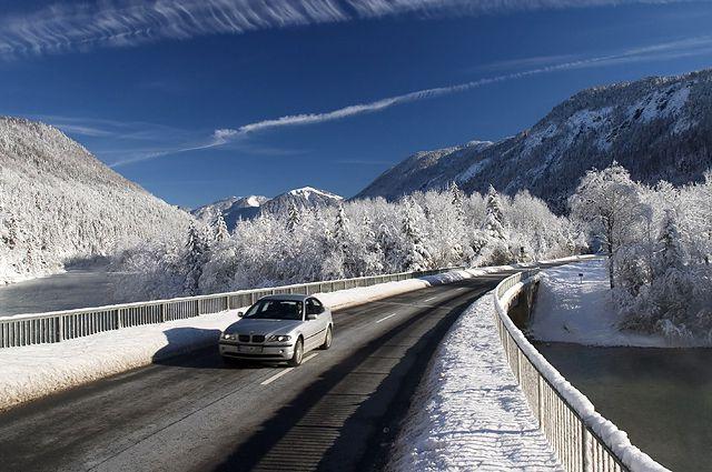В испанию на машине зимой