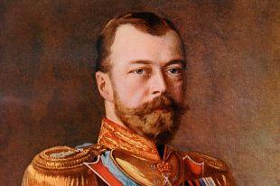 Николай II. Репродукция картины.