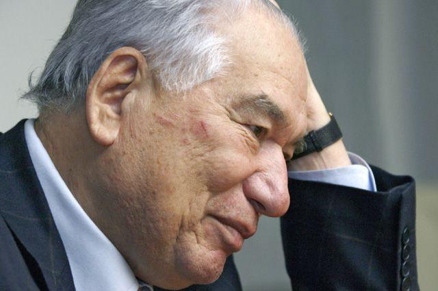 Чингиз Айтматов. 2007 год.