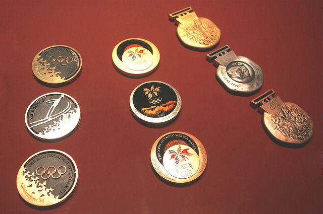 Олимпийские истории медали из чистого золота вручались лишь раз  Олимпийские истории медали из чистого золота вручались лишь раз