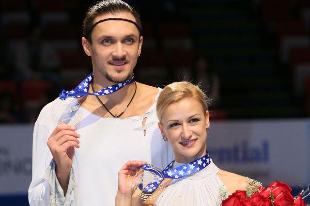 Максим Траньков и Татьяна Волосожар.