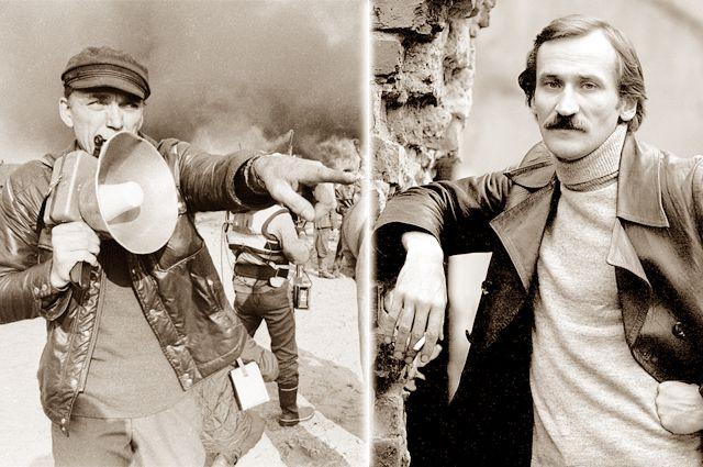 Элем Климов (слева) и Леонид Филатов (справа)
