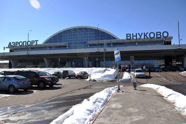 Здание терминала А аэропорта «Внуково».