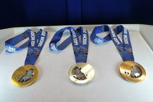 Медали Олимпиады-2014.