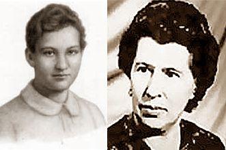 Зоя Космодемьянская и Антонина Макарова.