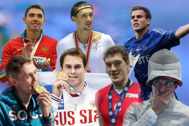Лучшие спортсмены Росси 2013 года.