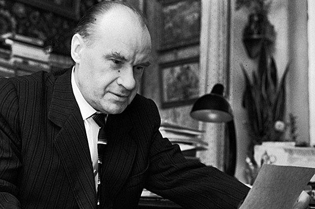 Писатель Николай Носов, 1962 год.