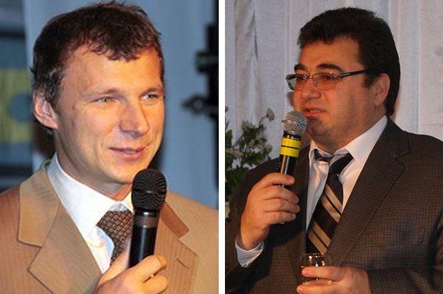 Предполагаемые участники драки на новогоднем приеме у губернатора Мурманской области Василий Пимин и Мустафа Кашка.