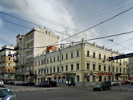 В центре Москвы