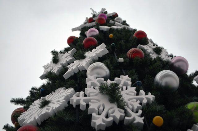 Какой же праздник без ёлки?