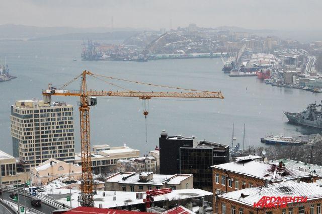 Владивосток продолжает застраиваться.