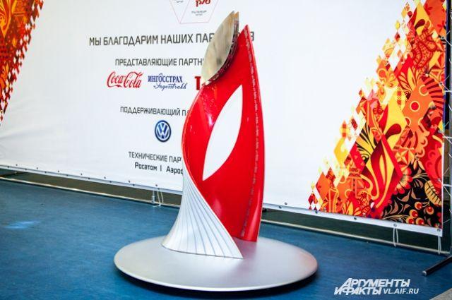 Чаша олимпийского огня теперь будет установлена в «Фетисов-Арене».