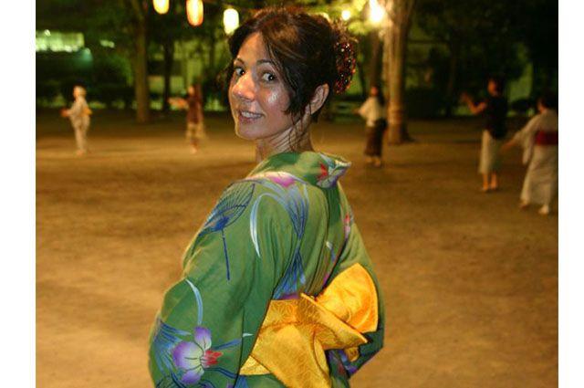 Кимоно идет многим женщинам!