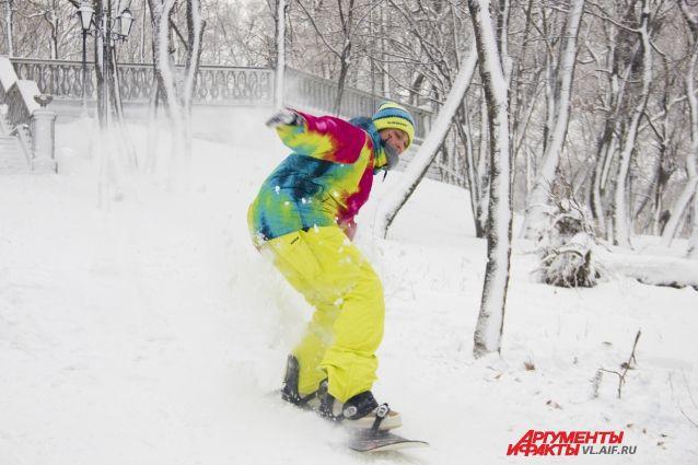 Эх, хорошо во Владивостоке зимой!