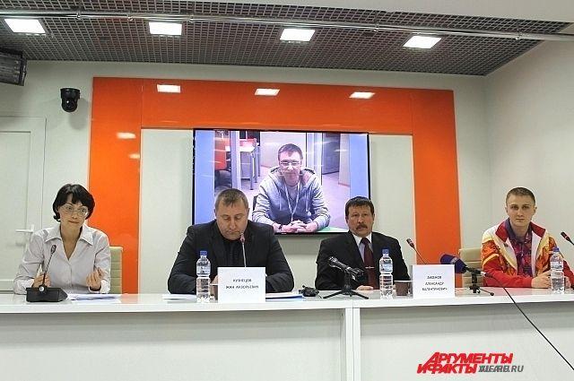 Пресс-конференция, состоявшаяся во Владивостоке, была посвящена Сочи-2014.
