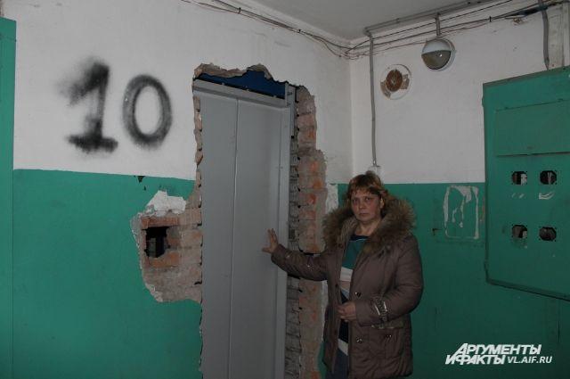 10-й этаж, но лифт сюда не ходит