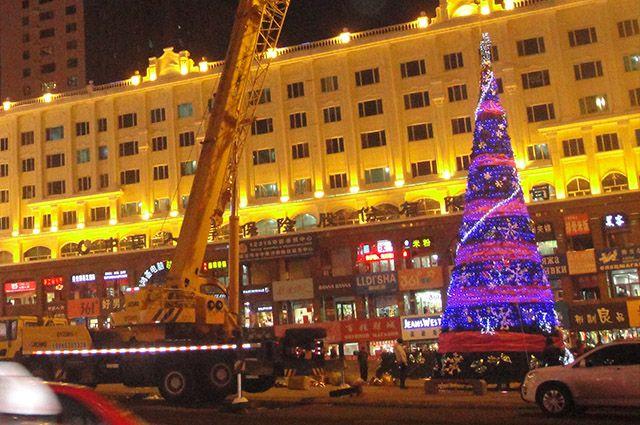 Новый год в Китае.