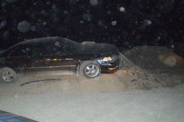 Потеря управления приводит к аварии