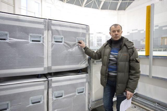 Борис Косяков, начальник отдела сценических технологий
