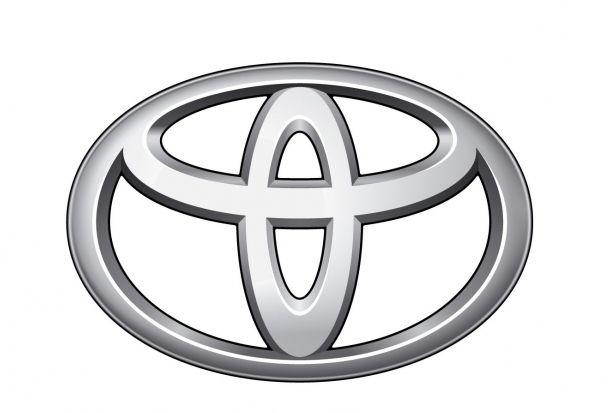 Фирменный знак Тойота.