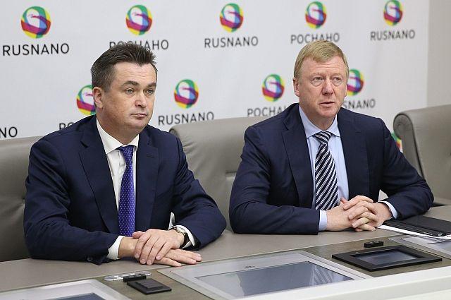 Владимир Миклушевский и Анатолий Чубайс.