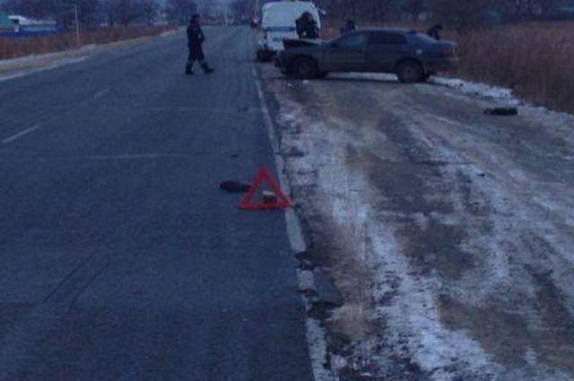 Авария в Шкотовском районе